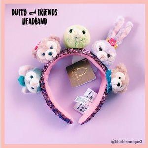 💙NWT Disney Aulani Duffy Bear & Friends Headband